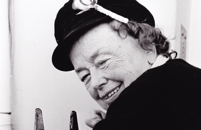Joan Littlewood. Photo: Theatre Royal Stratford East Archive