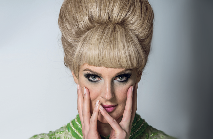 Katherine Kingsley as Dusty Springfield. Photo: Dominic Nicholls