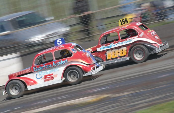 A banger race track was the location for a site-specific production of The Cherry Orchard. Photo: Shutterstock