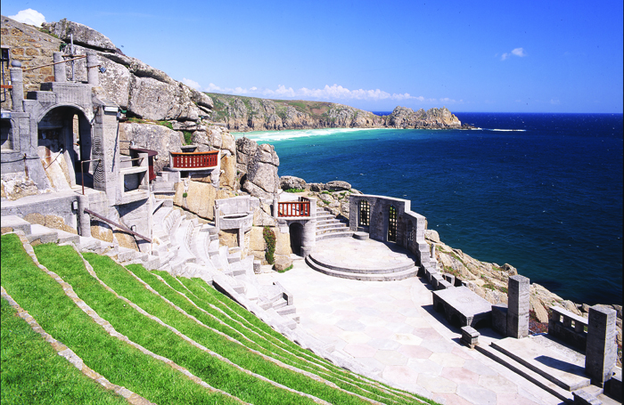 The Minack Theatre – the stage built by Rowena Cade and Billy Rawlings