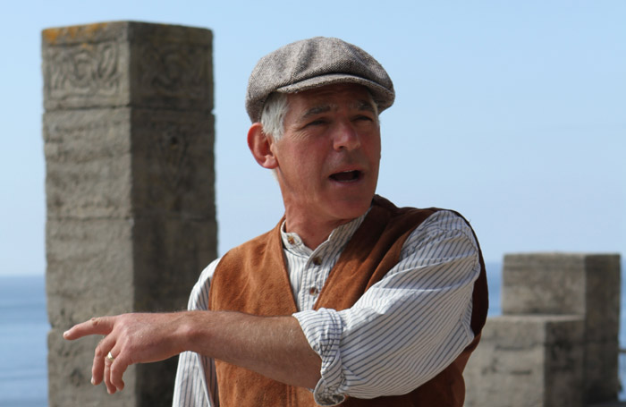 Mark Harandon at the Minack Theatre