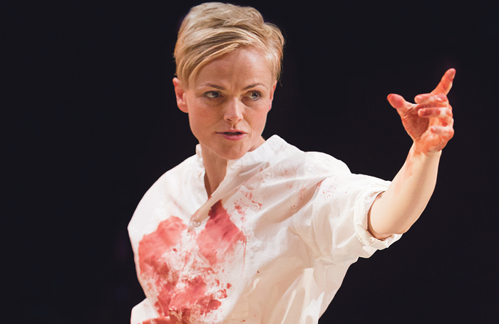 Maxine Peake in Hamlet (2014). Photo: Jonathan Keenan
