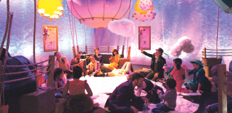 Scene from Lincoln Center's Up and Away. Photo: Alexis Buatti-Ramos