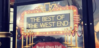 Promotional material for The Best of the West End has so far included only white performers