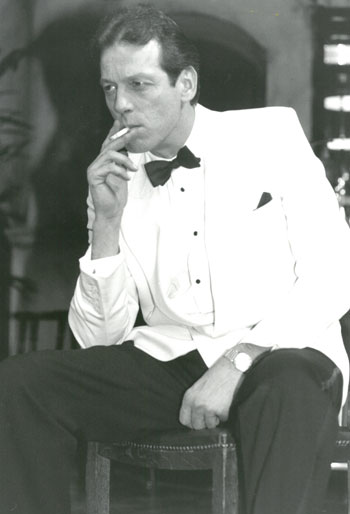 Leslie Grantham in Rick's Bar Casablanca in 1991. Photo: Theodore Wood/Feature Flash