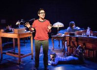 Kaisa Hammarlund in Fun Home at the Young Vic, London. Photo: Marc Brenner