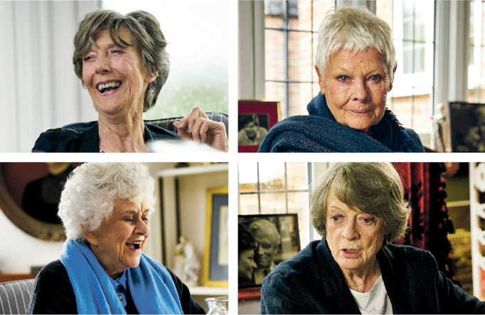 Clockwise from top left: Eileen Atkins, Judi Dench, Maggie Smith and Joan Plowright. Photos: Mark Johnson
