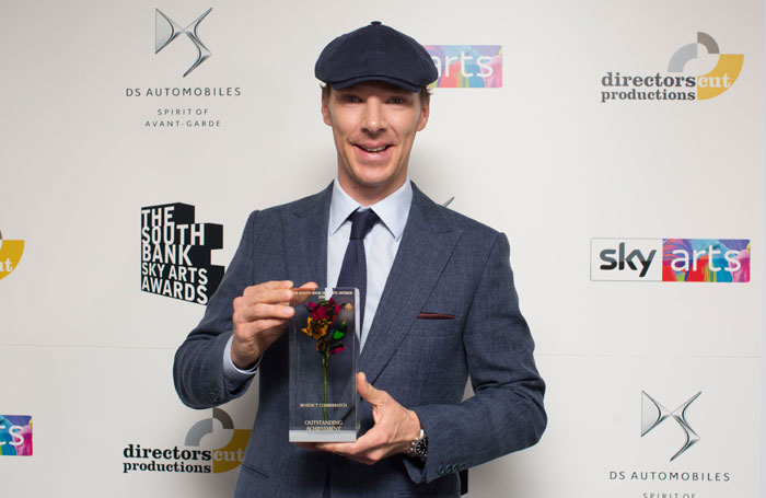 Benedict Cumberbatch and The Jungle win at South Bank Sky Arts Awards