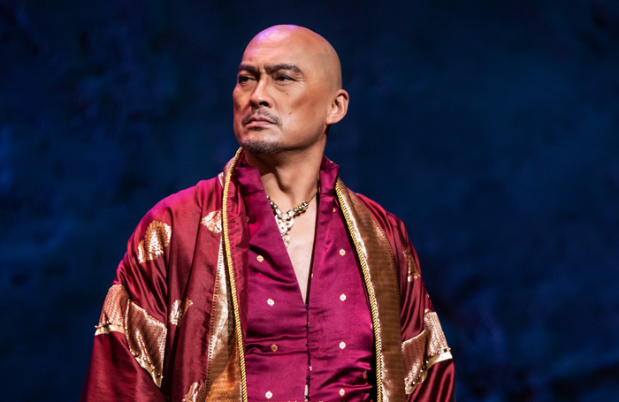 Ken Watanabe in The King and I at London Palladium. Photo: Matthew Murphy
