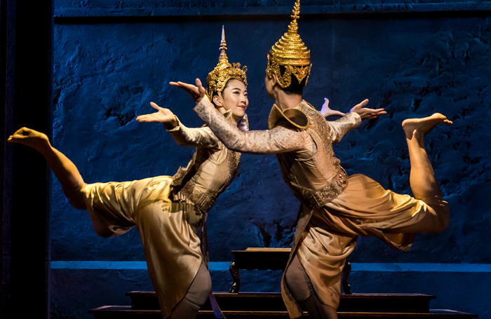 A scene from The King and I. Photo: Matthew Murphy