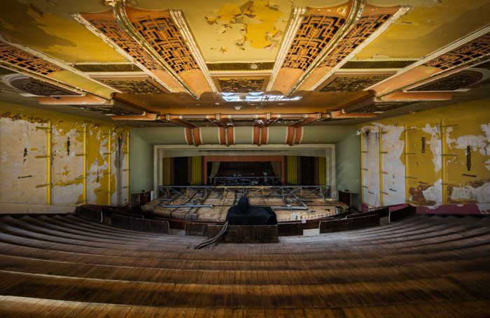 The Savoy Cinema in Dalston prior to its restoration as the Hackney Arts Centre. Photo: Luke Hayes