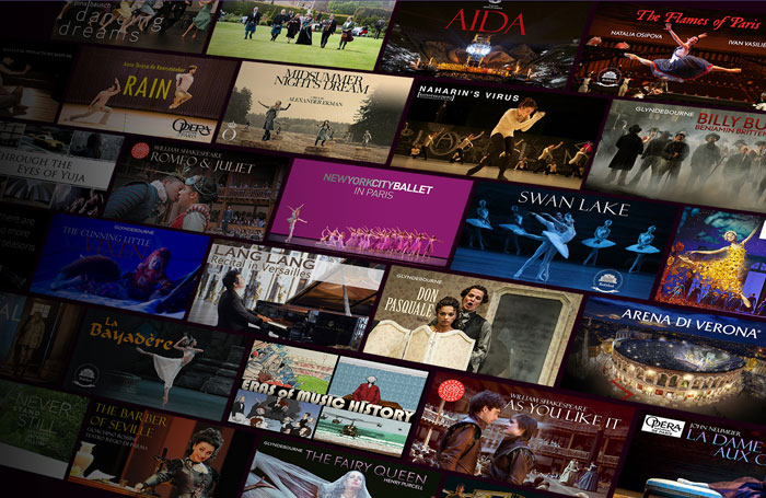 Marquee.TV offers viewers access to content from across the world, including dance, opera, music and theatre