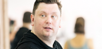 Ryan Pidgen in rehearsal for Me and My Girl at Chichester Festival Theatre. Photo: Johan Persson