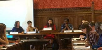 A meeting of the Performers' Alliance All-Party Parliamentary Group was chaired by MP Luciana Berger. Photo: Equity