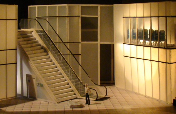 Rebecca Brower's model for Casanova, the Olivier theatre winning design (2011)