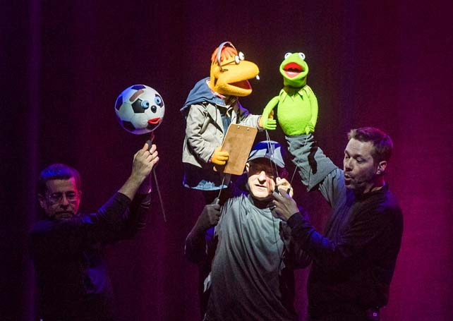 The Muppets Take the O2 review – 'wonky but charming'