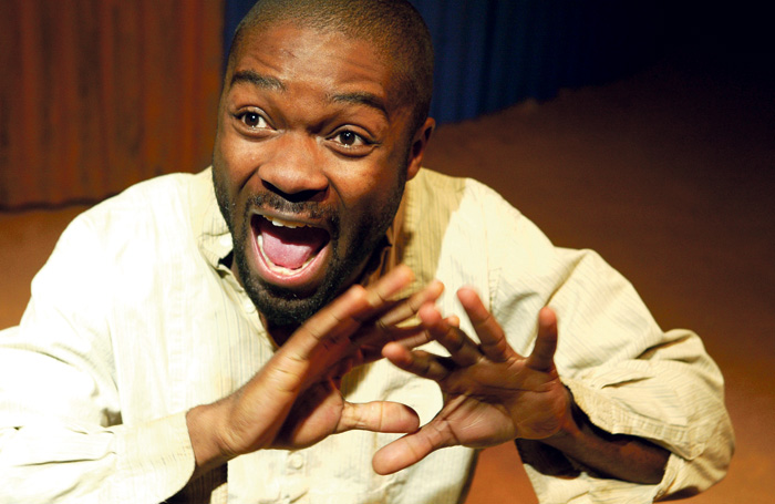 David Oyelowo, the first black actor to play an English king at the Royal Shakespeare Company in 2000. Street asks: are we not past those days? Photo: Tristram Kenton
