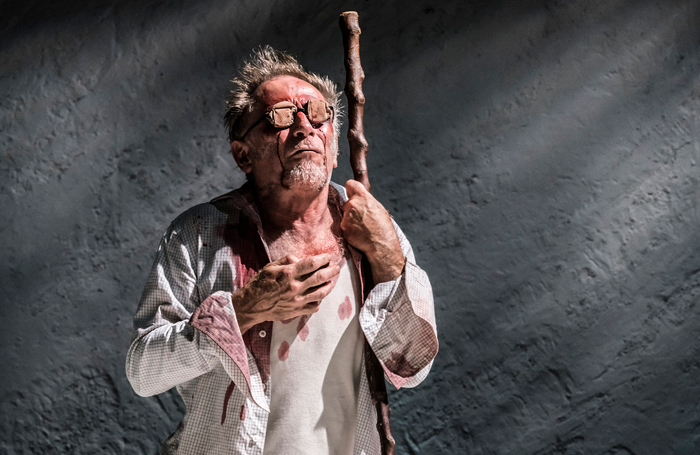 Danny Webb in King Lear at Duke of York's Theatre. Photo: Johan Persson