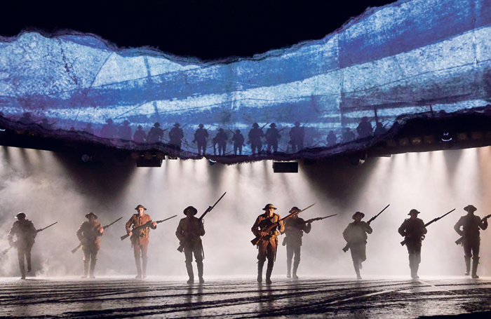 Projections for War Horse. Photo: Brinkhoff and Mogenburg