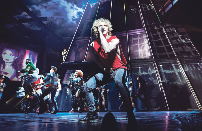 Andrew Polec (The Stage Debut Award in Bat Out of Hell. Photo: Specular