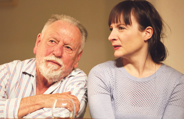Kenneth Cranham and Jade Williams in The Father. Photo: Stephen King
