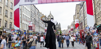 The Royal Mile during the Edinburgh Festival Fringe. Photo: Shutterstock