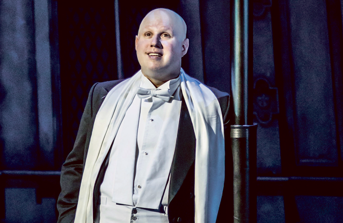 Matt Lucas in Me and My Girl at Chichester Festival Theatre. Photo: Johan Persson
