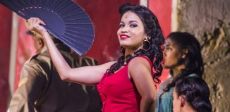 Luna Manzanares Nardo in Carmen La Cubana at Sadler's Wells. Photo: Tristram Kenton