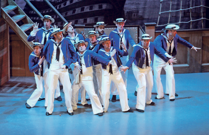 National G&S Opera Company's HMS Pinafore. Photo: Charles Smith