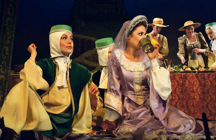 Companies from all over the world perform operas such as Princess Ida at the festival. Photo: Charles Smith