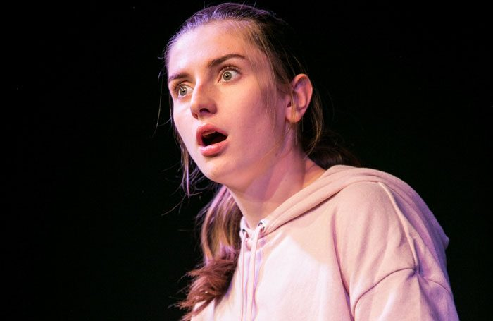 Amy Doyle in Weird at Pleasance Courtyard, Edinburgh. Photo: Headshot Toby