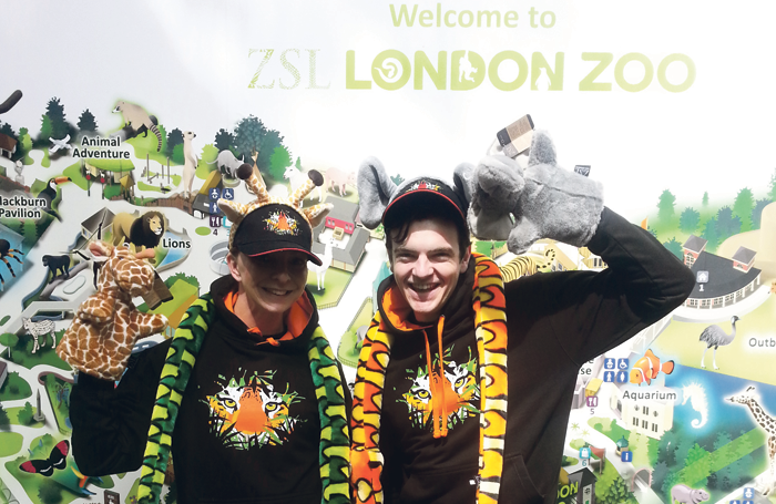 Working at ZSL London Zoo's gift shop