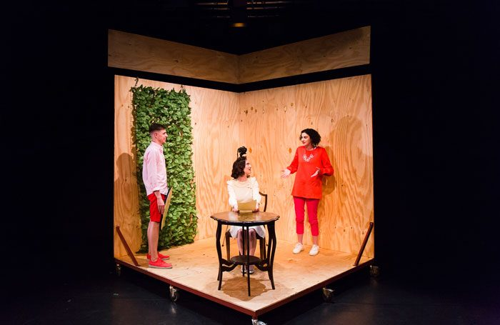 Malaprop's Everything Not Saved at Summerhall, Edinburgh. Photo: Kasia Kaminska
