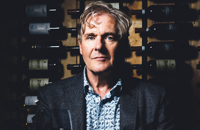 Robert Bathurst in The Song of Lunch, produced by Suzanna Rosenthal. Photo: Alex Brenner