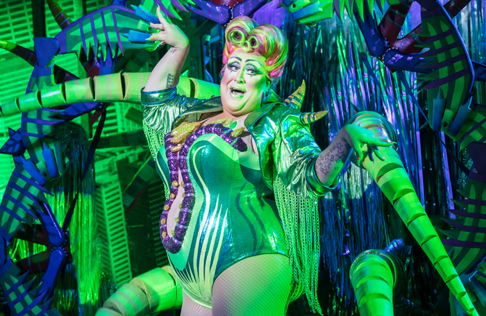 Vicky Vox in Little Shop of Horrors at Regent's Park Open Air Theatre. Photo: Johan Persson