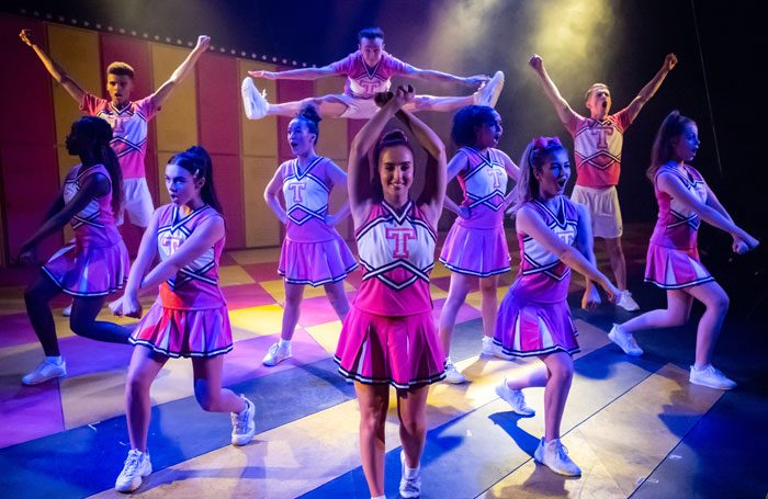 Scene from Bring It On: The Musical at Southwark Playhouse, London. Photo: Eliza Wilmot