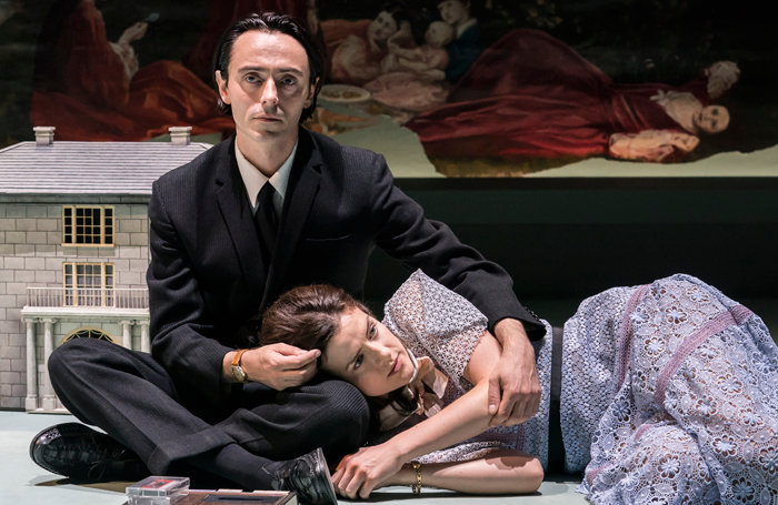 David Dawson and Aisling Loftus in Aristocrats at the Donmar Warehouse. Photo: Johan Persson