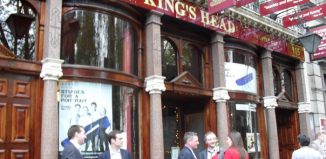 The current home of the King's Head Theatre