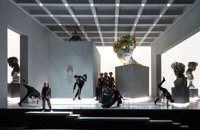 Ariadne Auf Naxos by the Nederlands Reisopera. Photo:Marco Borggreve