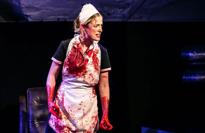 Hannah McClean in Ladykiller at Pleasance Courtyard, Edinburgh. Photo: The Other Richard