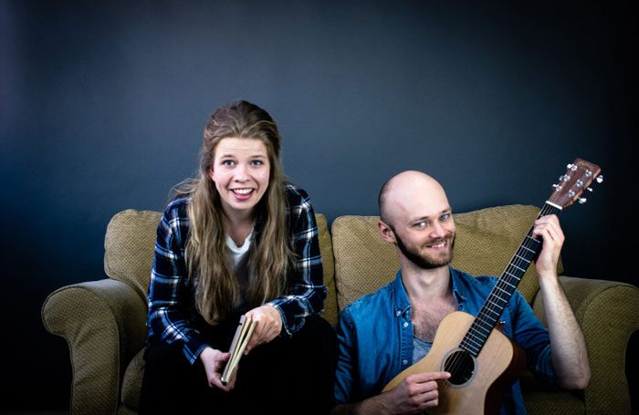 Imogen Halsey and Michael Dahl Rasmussen in Mess at Greenside, Edinburgh
