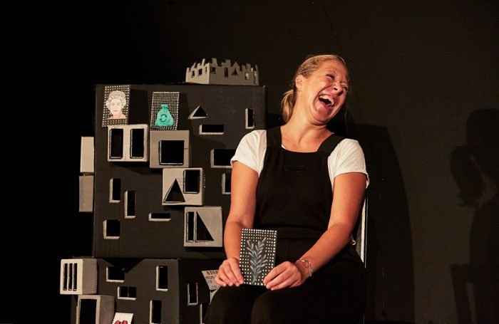 Cecilia Gragani in Diary of an Expat at Underbelly, Edinburgh. Photo: The Other Richard
