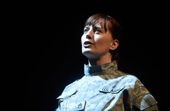 Mary Jane Wells in Heroine at Assembly Hall, Edinburgh. Photo: Greg Macvean