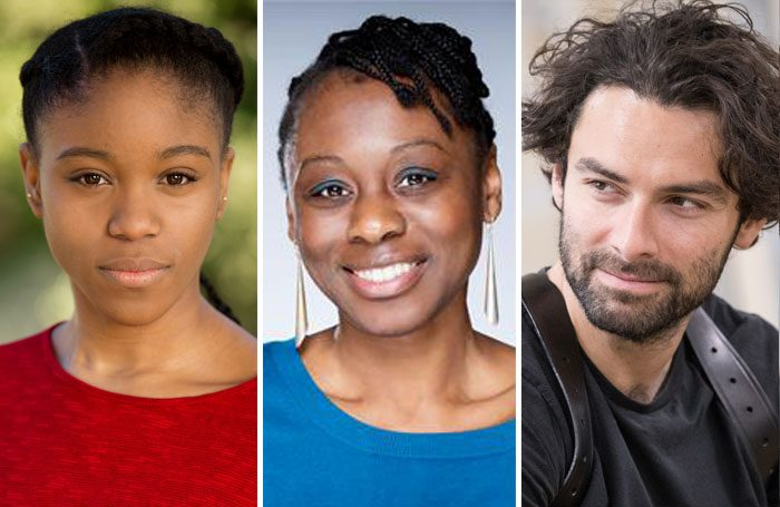 Amara Okereke, Natasha Gordon and Aidan Turner are all nominated for The Stage Debut Awards 2018
