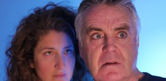 Stefanie Rossi and Tim Marriott in Mengele