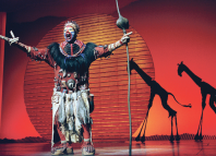 When hit West End musicals such as The Lion King (left) and Matilda the Musical (above) tour the UK, high box office for large presenting venues pushes up average ticket sales nationwide. Photo: Tristram Kenton
