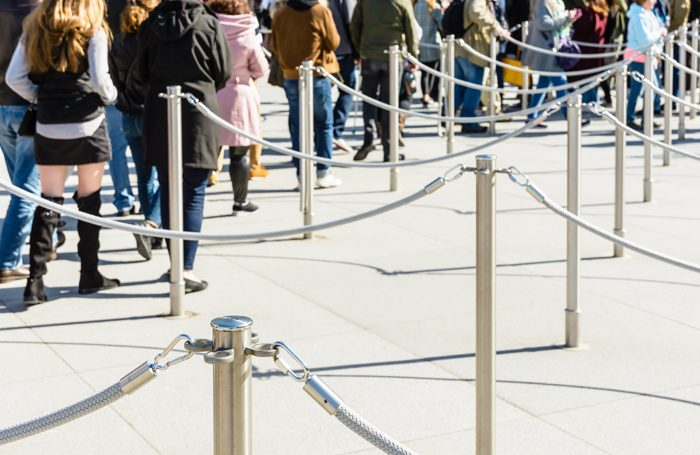 Form an orderly queue please... Photo: Shutterstock