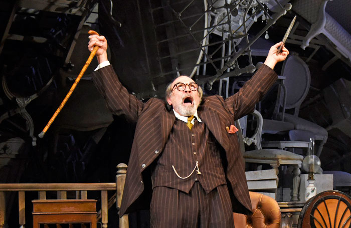 David Suchet in The Price at Theatre Royal Bath. Photo: Nobby Clark