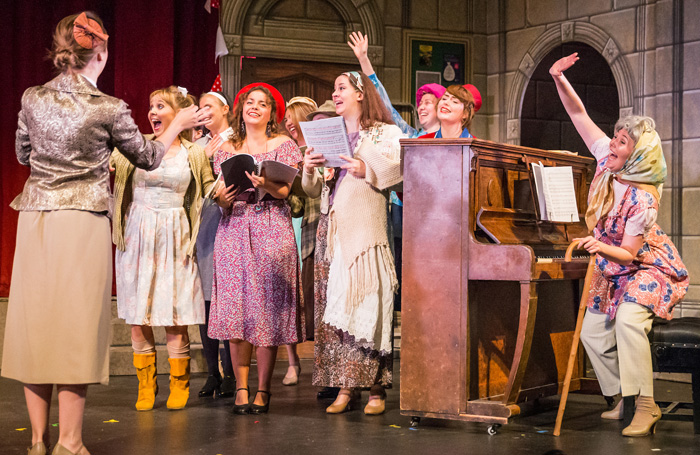 A scene from National Gilbert and Sullivan Opera Company's The Sorcerer. Photo: DJ Stotty Image