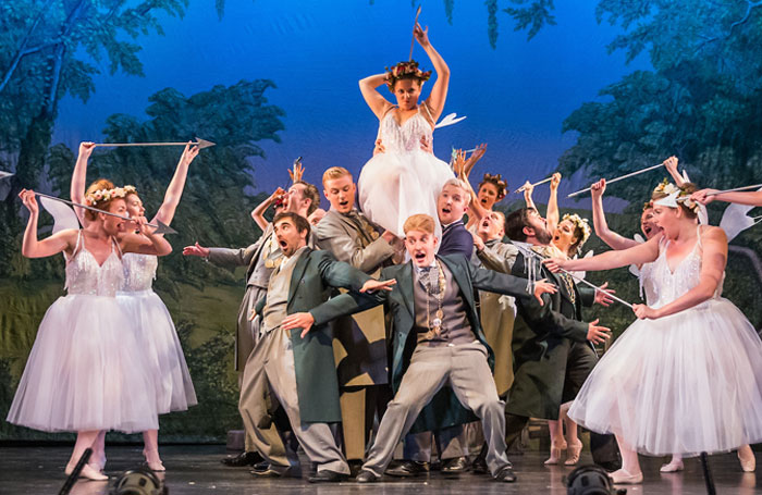 Scene from Iolanthe at Royal Hall, Harrogate. Photo: Jane Stokes